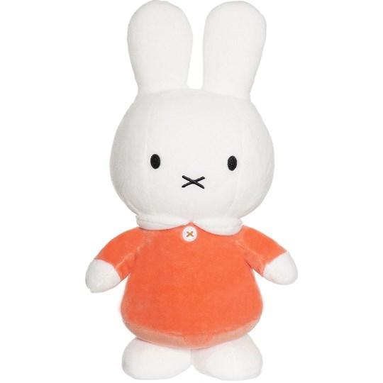 Miffy, stor (orange) - Teddykompaniet (Orange klänning)