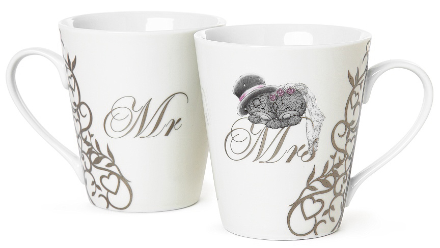 Mugg Mr & Mrs - Me to you (Miranda nalle)
