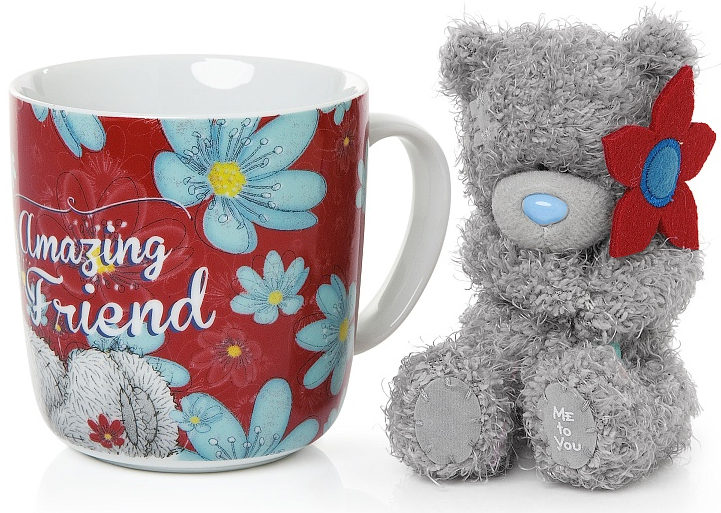 "Presentset Nalle + Mugg """"Friend"""", Me To You"