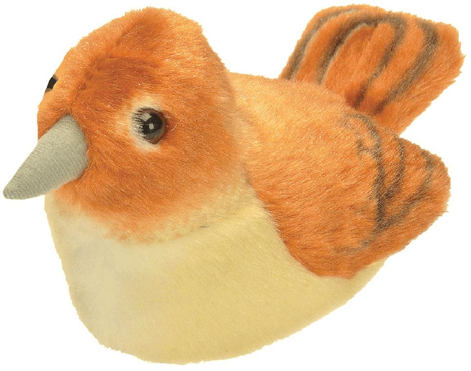 Näktergal med fågelläte, 14cm - Wild Republic