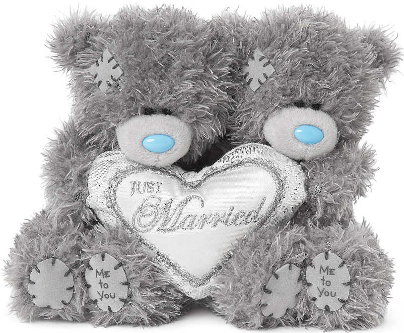 "Nallepar """"Just Married"""", 10cm - Me to you (Mirandanalle)"