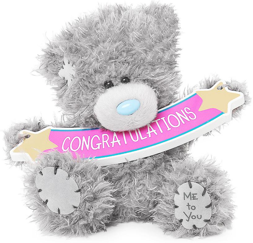 """Nalle """"Congratulations"""", 13cm - Me to you (Miranda nalle)"""