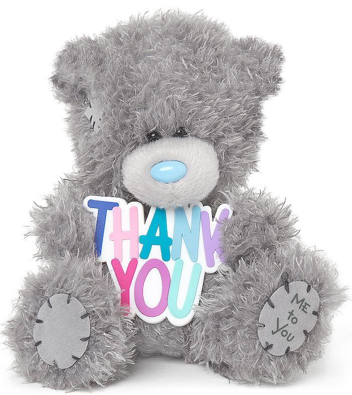 "Nalle """"Thank You"""", 13cm - Me to you (Miranda nalle)"