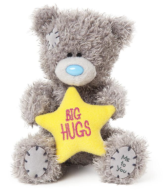 Nalle Big Hugs på stjärna, 10cm - Me to you (Mirandanalle)