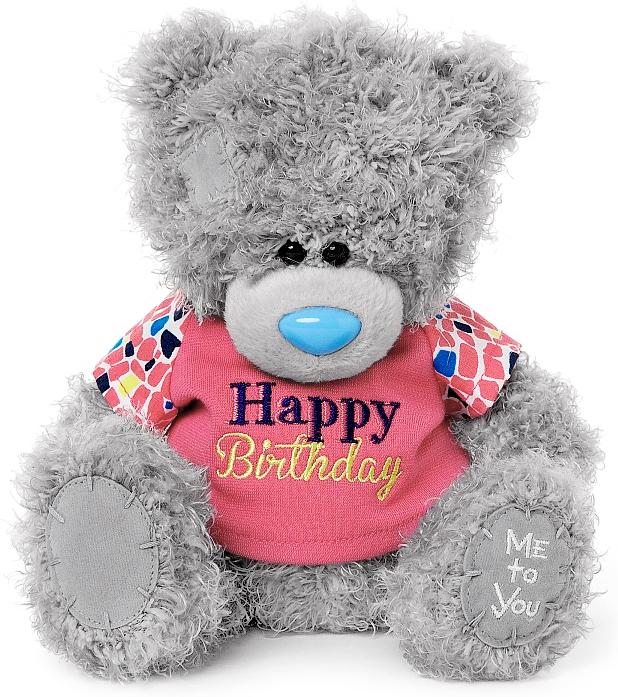 "Nalle """"Happy Birthday"""", 18cm - Me to you (Miranda nalle)"