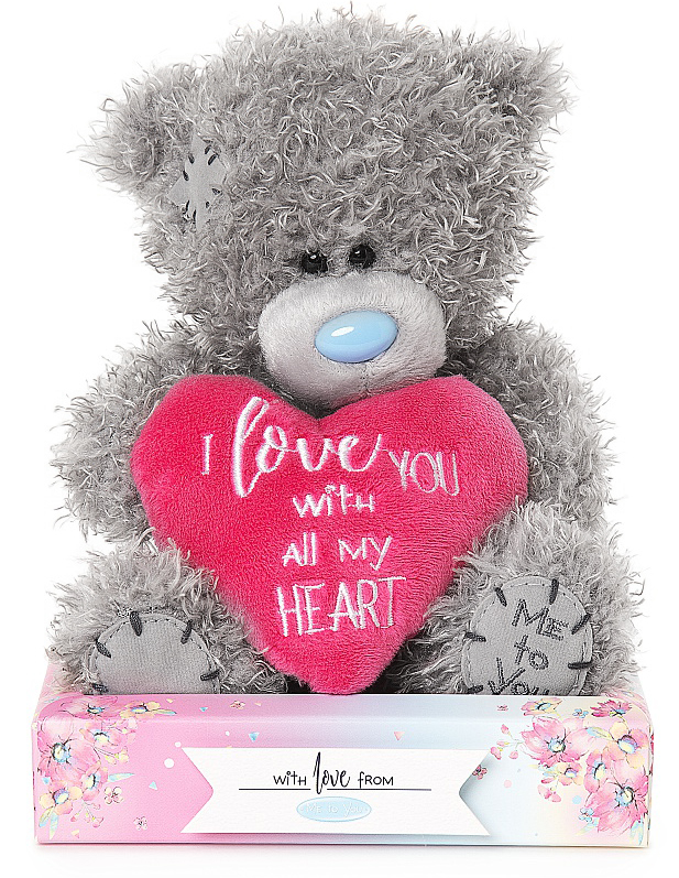 Nalle I love you with all my heart, 15cm - Me To You