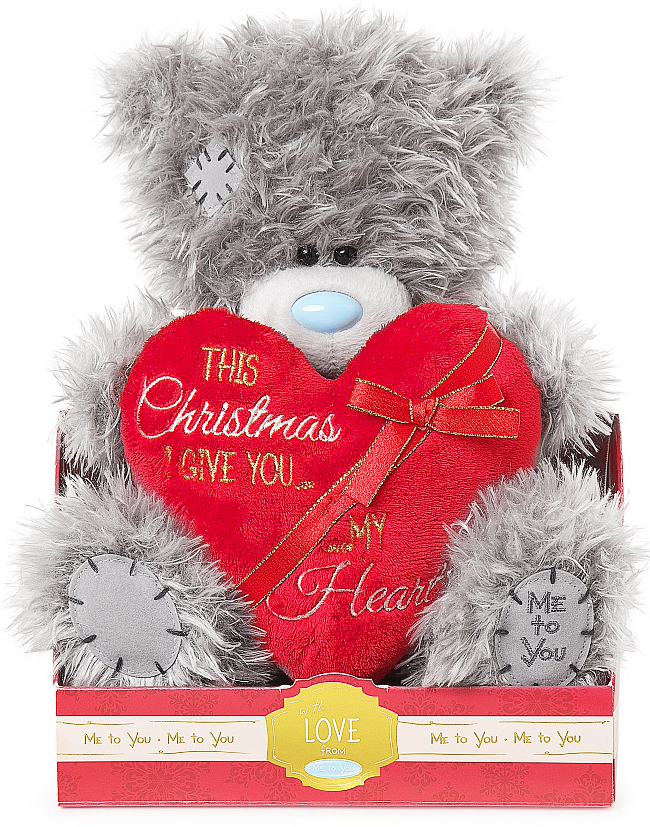 "Nalle """"This Christmas I give you my heart"""", 20cm - Me to you"