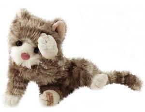 Maciek (Rowdy), katt från Bukowski design, 25cm