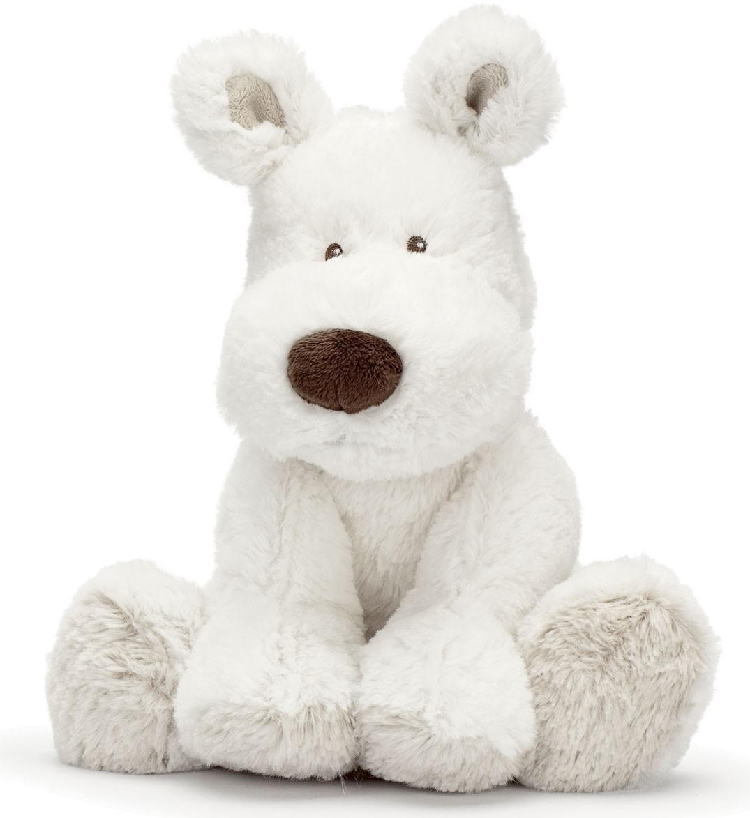 Hund Teddy Cream, 21cm - Teddykompaniet