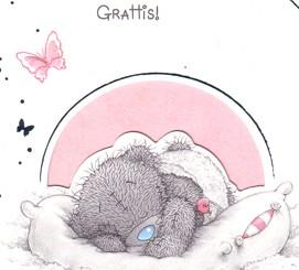 grattis flicka Grattis ni har fått en flicka, Me to you | Nalleriet.se grattis flicka
