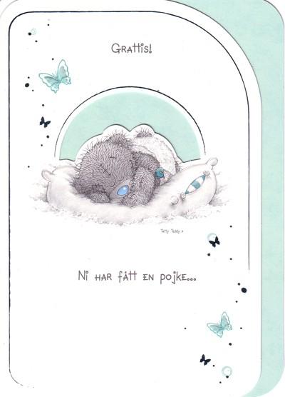 grattiskort nyfödd pojke Grattis ni har fått en pojke, Me to you | Nalleriet.se grattiskort nyfödd pojke