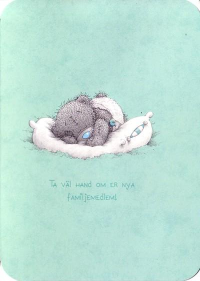 grattis nyfödd pojke Grattis ni har fått en pojke, Me to you | Nalleriet.se grattis nyfödd pojke