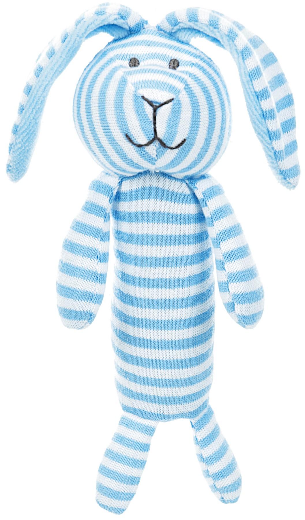 Stripes Skallra, blå, 15cm - Teddykompaniet