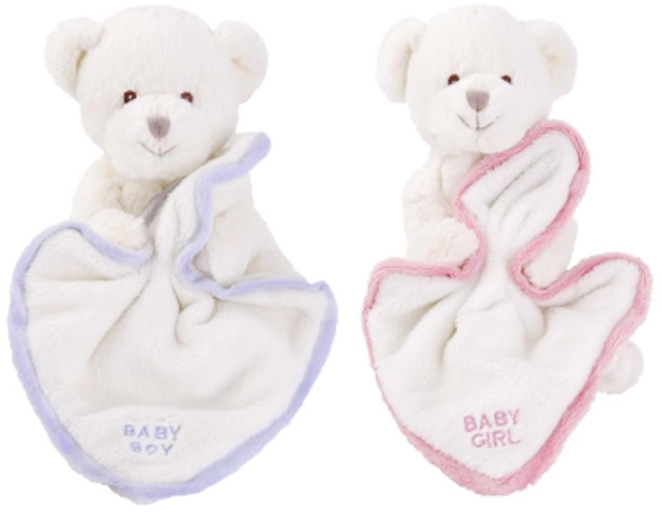 Baby Snuttefilt - Bukowski Design (Baby Boy (blå))