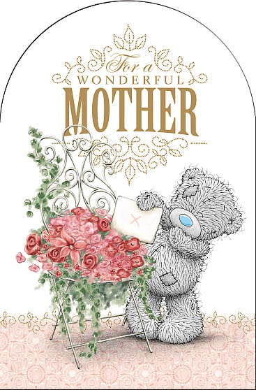 Kort, For a Wonderful Mother, Happy Mothers Day - Me To You