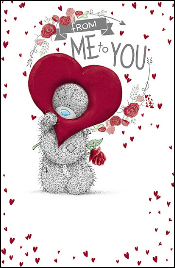 Kort, Nalle med Hjärta - Me To You