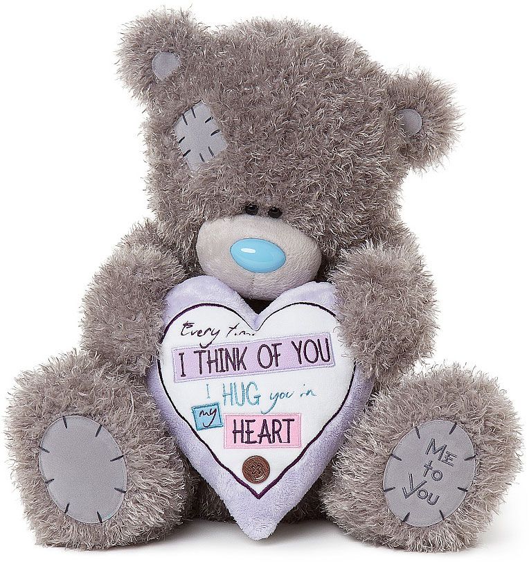 Nalle, Every Time I Think Of You.., 40cm - Me To You