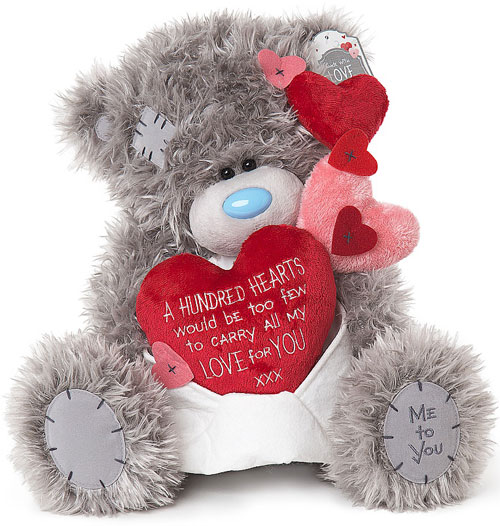 Nalle, Hundred Hearts, 30cm - Me To You