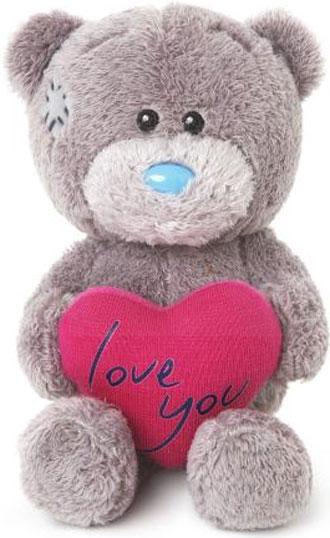 Nalle Love you på hjärta, 10cm - Me to you (Mirandanalle)