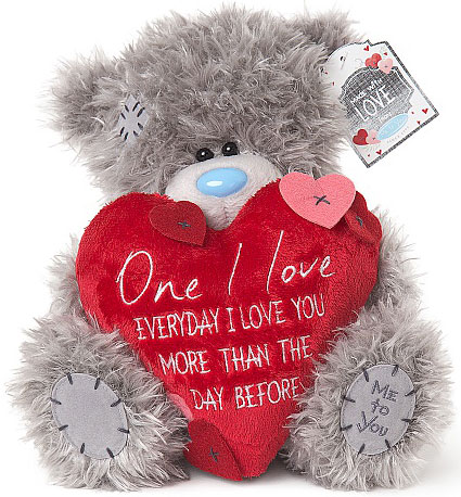 Nalle, One I Love, Everyday I Love You... 20cm - Me To You