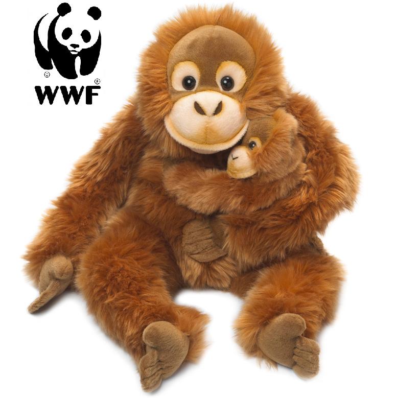 Orangutang med baby - WWF