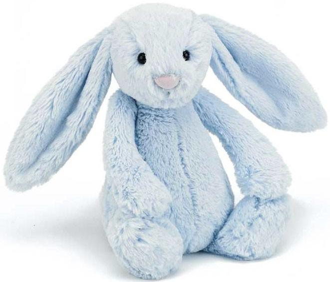 Bashful Kanin, blå - Jellycat