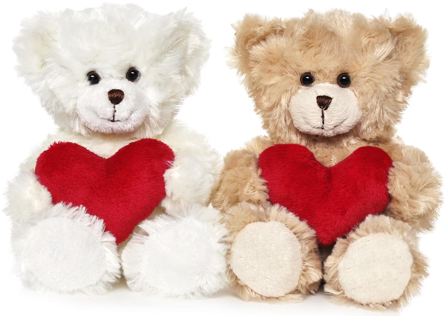 Nalle Samuel, 18cm - Teddykompaniet (Vit)
