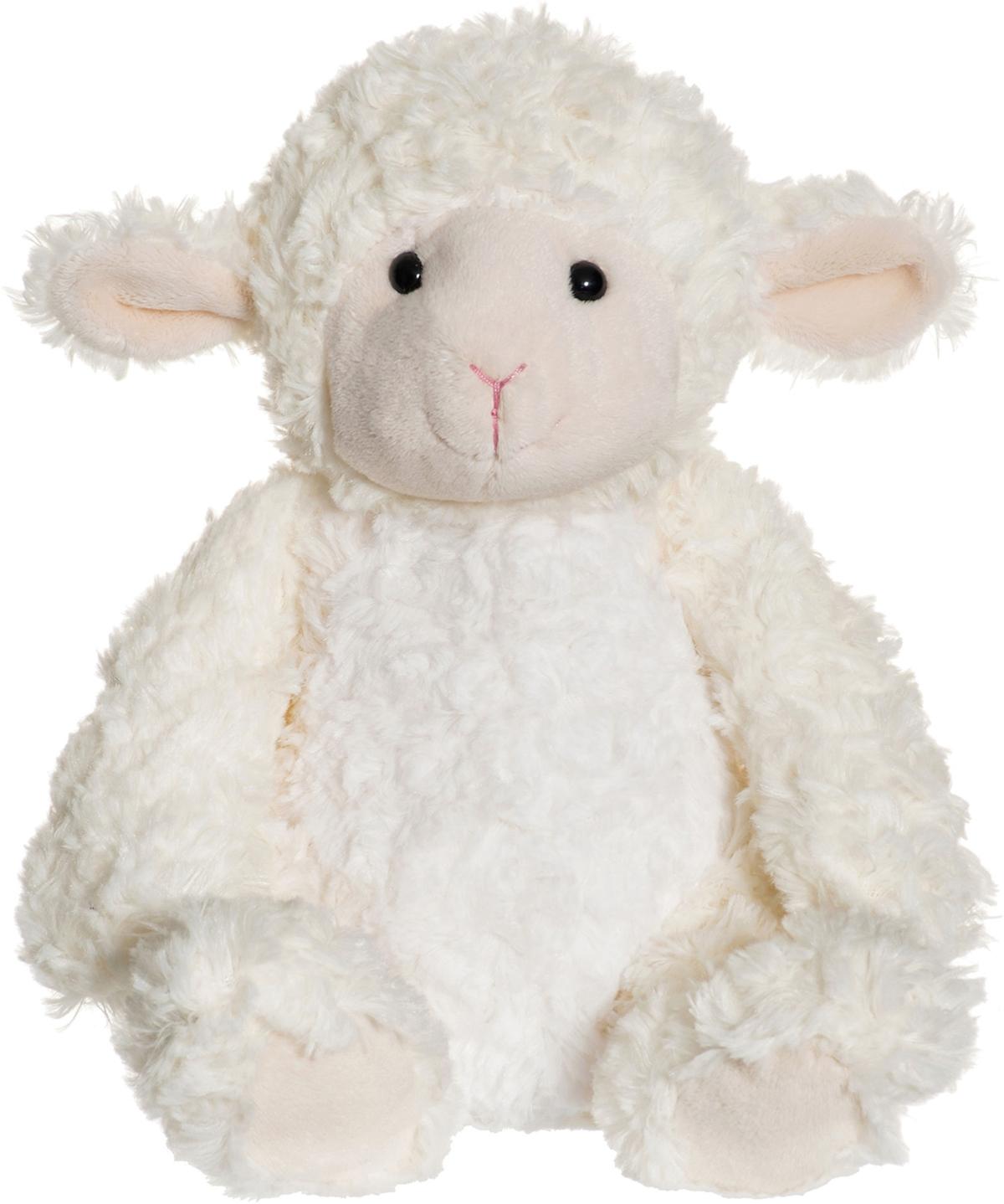 Softies Lammet Lilly, 28cm - Teddykompaniet