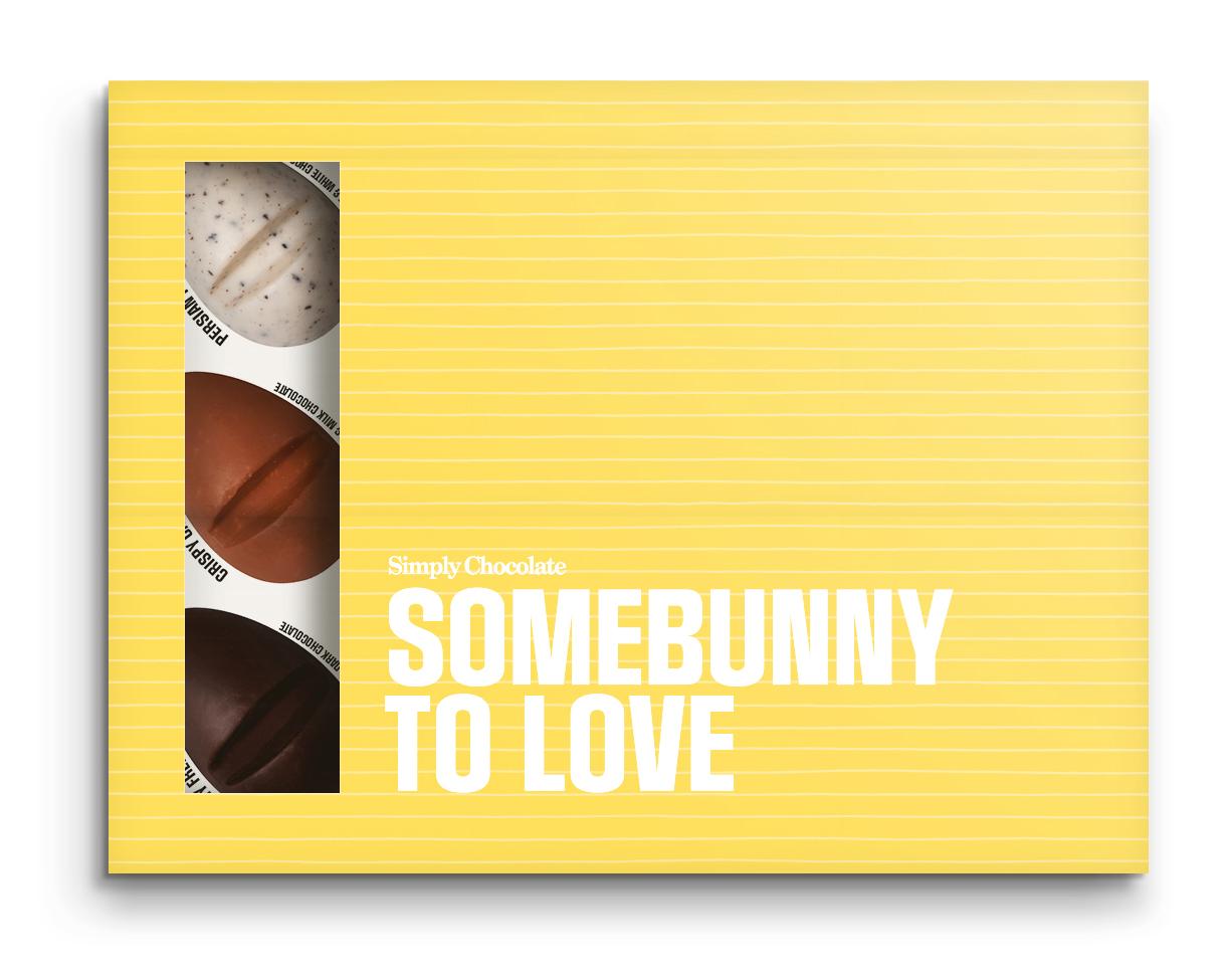 Somebunny to love - Premium chokladpraliner