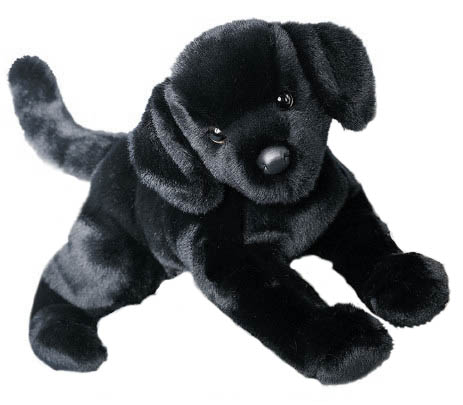 Labrador, Svart - Douglas Mjukisdjur