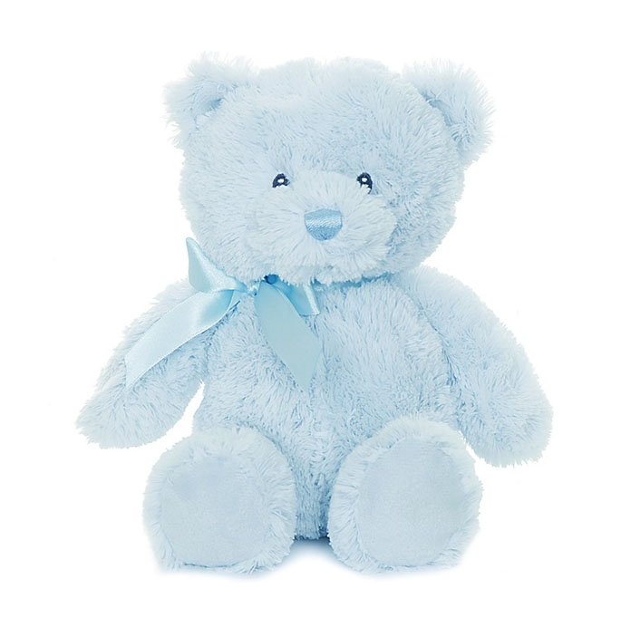 Teddy Baby Bear, blå, 28cm - Teddykompaniet