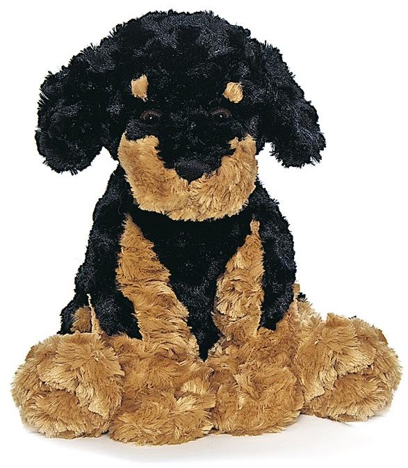 Teddy Hund, svart/brun