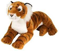 Tiger (liggande), 40cm från Wild Republic