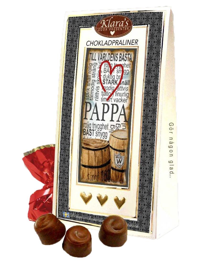 Till Pappa - Lyxiga chokladpraliner