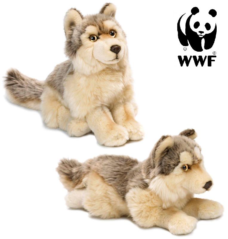 Varg - WWF (Världsnaturfonden) (Liggande)