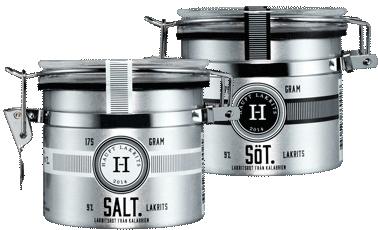 Haupt Lakrits (salt- eller sötlakrits) (Salt)