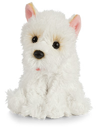 West Highland White Terrier- Keycraft Living Nature