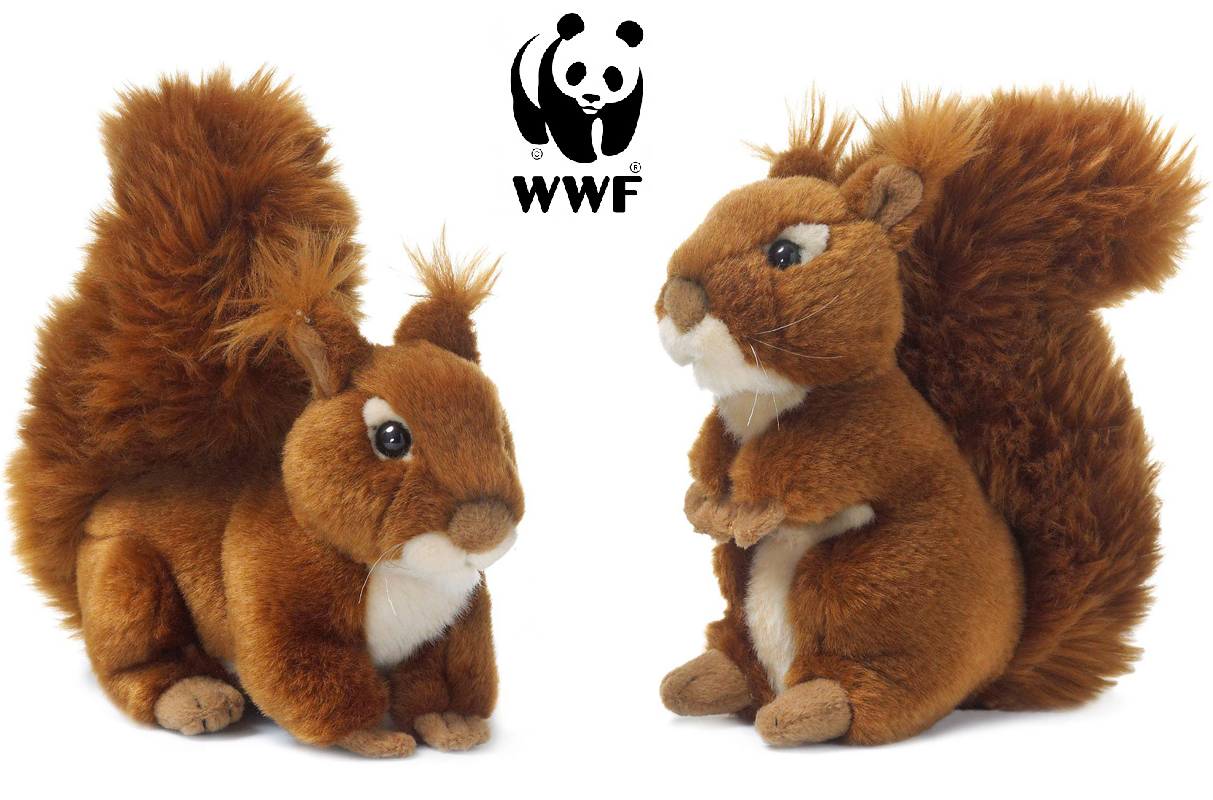 Ekorre - WWF (Världsnaturfonden) (Sittande)